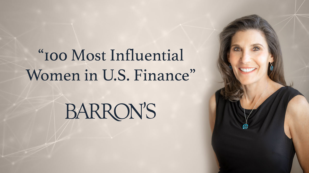 Barron's Names Seidenberg Top 100 Most Influential Women in U.S. Finance